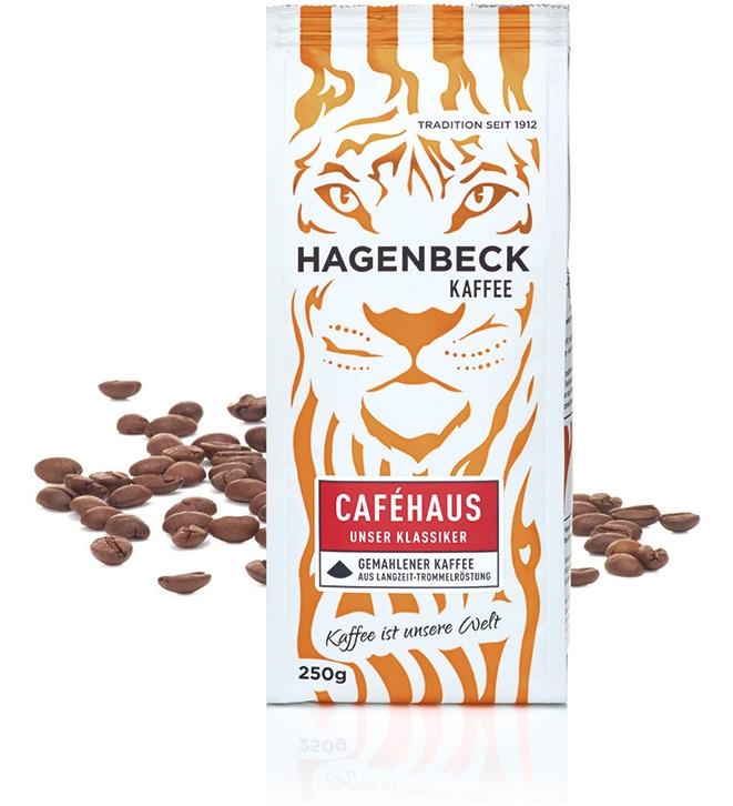 Hagenbeck Kaffee - Collage